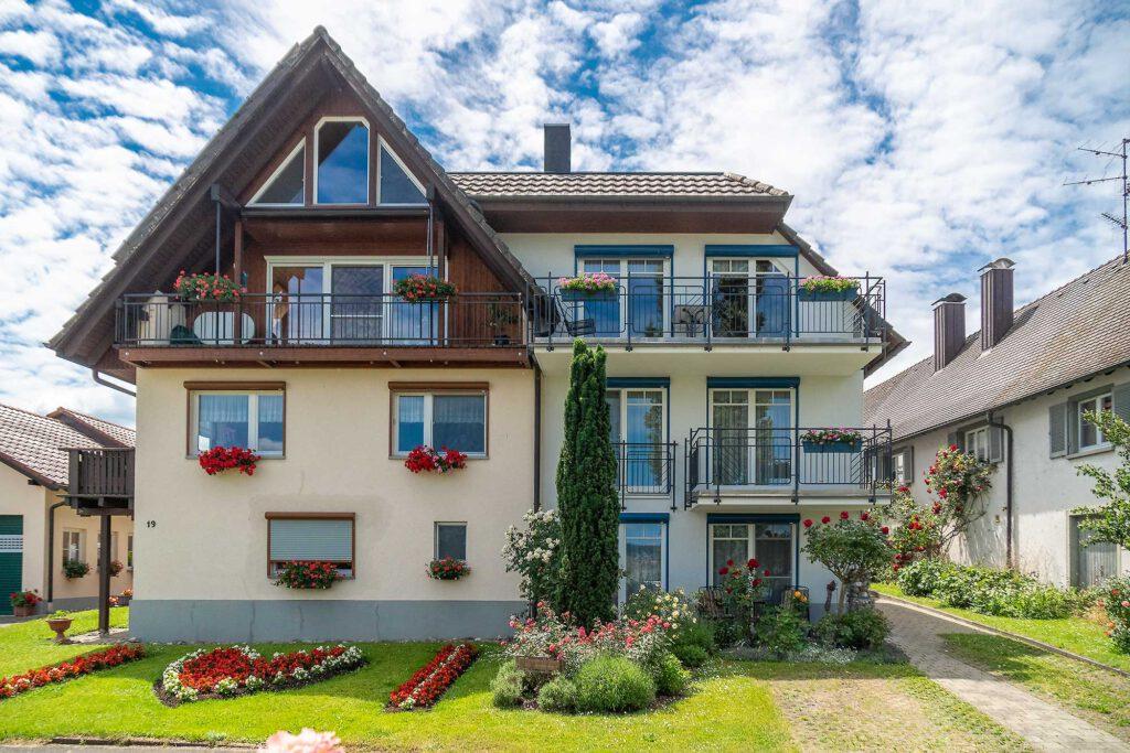 Frontansicht Ferienwohnung Reichenau Anita Link